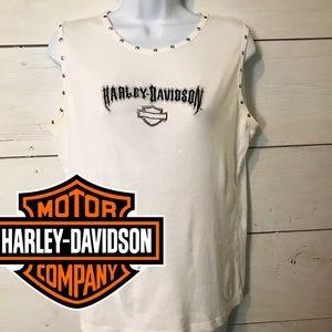 Harley Davidson Studded Tank Top WV XL